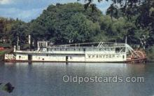 shi075471 - WP Snyder Jr Ferry Boats, Ship, Ships, Postcard Post Cards