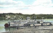 shi075475 - Huntington, West Virginia, USA Ferry Boats, Ship, Ships, Postcard Post Cards
