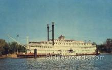 shi075477 - River Queen, Hannibal, Mo. USA Ferry Boats, Ship, Ships, Postcard Post Cards