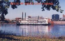 shi075486 - Belle Of Sioux City Casino Ferry Boats, Ship, Ships, Postcard Post Cards