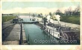 shi075487 - Louisville, USA, Kentucky Ferry Boats, Ship, Ships, Postcard Post Cards
