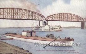 shi075490 - Merchants Bridge Ferry Boats, Ship, Ships, Postcard Post Cards