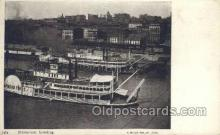 shi075492 - Steamboat Landing Ferry Boats, Ship, Ships, Postcard Post Cards