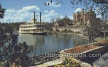 shi075499 - Cruising The Rivers Of America Disney World Ferry Boats, Ship, Ships, Postcard Post Cards