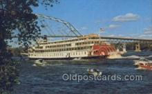 shi075501 - S.S. Delta Queen Ferry Boats, Ship, Ships, Postcard Post Cards