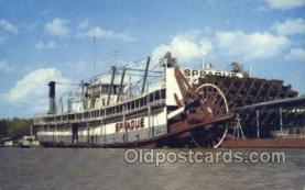 shi075511 - Sprague Vicksburg Mississippi, USA Ferry Boats, Ship, Ships, Postcard Post Cards