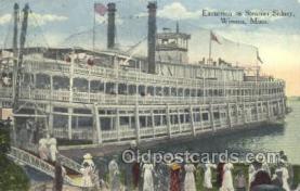 shi075515 - Sidney Minn, USA Steamer, Steam Boat, Steamboat, Ship, Ships, Postcard Post Cards