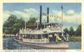 shi075519 - Suwanee,  Dearborn, Michigan, USA Steamer, Steam Boat, Steamboat, Ship, Ships, Postcard Post Cards