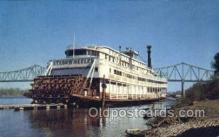 shi075521 - Stern Wheeler Steamboat, Owensboro, Kentucky, USA Steamer, Steam Boat, Steamboat, Ship, Ships, Postcard Post Cards