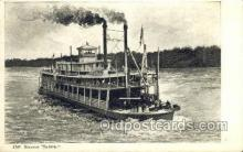 shi075524 - Saltillo Steamer, Steam Boat, Steamboat, Ship, Ships, Postcard Post Cards