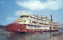 shi075525 - Stern Wheeler Steamboat Steamer, Steam Boat, Steamboat, Ship, Ships, Postcard Post Cards
