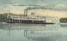 shi075538 - Saint Paul Steamer, Steam Boat, Steamboat, Ship, Ships, Postcard Post Cards