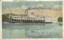 shi075541 - Saint Paul Steamer, Steam Boat, Steamboat, Ship, Ships, Postcard Post Cards