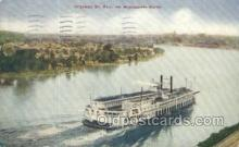 shi075542 - St Paul Steamer, Steam Boat, Steamboat, Ship, Ships, Postcard Post Cards