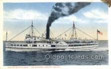 shi075545 - South Shore Steamer, Steam Boat, Steamboat, Ship, Ships, Postcard Post Cards