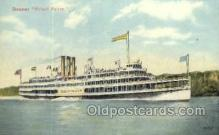 shi075546 - Robert Fulton Steamer, Steam Boat, Steamboat, Ship, Ships, Postcard Post Cards