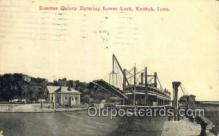 shi075550 - Quincy Steamer, Steam Boat, Steamboat, Ship, Ships, Postcard Post Cards