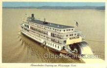 shi075552 - Delta Queen Steamer, Steam Boat, Steamboat, Ship, Ships, Postcard Post Cards