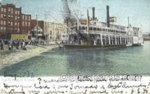 shi075556 - Quincy Steamer, Steam Boat, Steamboat, Ship, Ships, Postcard Post Cards