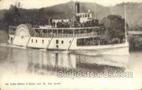 shi075558 - Coeur D Alene Steamer, Steam Boat, Steamboat, Ship, Ships, Postcard Post Cards