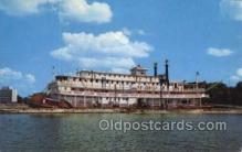 shi075563 - River Queen, Bradenton, Florida USA Steamer, Steam Boat, Steamboat, Ship, Ships, Postcard Post Cards