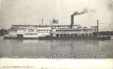 shi075569 - Quincy Steamer, Steam Boat, Steamboat, Ship, Ships, Postcard Post Cards