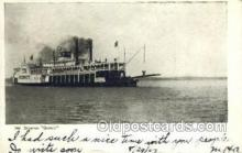 shi075570 - Quincy Steamer, Steam Boat, Steamboat, Ship, Ships, Postcard Post Cards