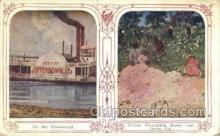 shi075575 - Jeffersonville Steamer, Steam Boat, Steamboat, Ship, Ships, Postcard Post Cards