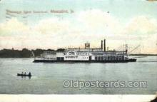 shi075576 - Quincy Steamer, Steam Boat, Steamboat, Ship, Ships, Postcard Post Cards