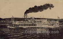 shi075582 - Louisville Steamer, Steam Boat, Steamboat, Ship, Ships, Postcard Post Cards