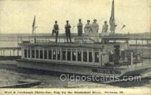 shi075584 - Edith C, Wolf & Colebaugh Thirty Day Trip,on Mississippi, Savanna, Illinois, Ill, USA Steamer, Steam Boat, Steamboat, Ship, Ships, Postcard Post Cards
