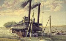 shi075588 - The Sinking Of Bertand Steamer, Steam Boat, Steamboat, Ship, Ships, Postcard Post Cards
