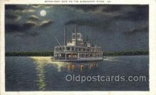 shi075589 - Moonlight Bridge Steamer, Steam Boat, Steamboat, Ship, Ships, Postcard Post Cards