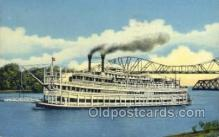shi075595 - Excursion Boat Steamer, Steam Boat, Steamboat, Ship, Ships, Postcard Post Cards