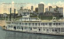 shi075597 - Memphis Skyline Steamer, Steam Boat, Steamboat, Ship, Ships, Postcard Post Cards