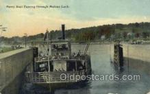 shi075598 - Ferry Boat Moline Lock Steamer, Steam Boat, Steamboat, Ship, Ships, Postcard Post Cards