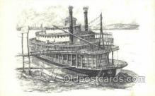 shi075601 - River Queen Steamer, Steam Boat, Steamboat, Ship, Ships, Postcard Post Cards