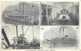 shi075602 - America Steamer, Steam Boat, Steamboat, Ship, Ships, Postcard Post Cards