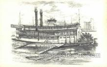 shi075603 - The Becky Thatcher Steamer, Steam Boat, Steamboat, Ship, Ships, Postcard Post Cards