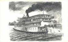 shi075604 - Delta Queen Steamer, Steam Boat, Steamboat, Ship, Ships, Postcard Post Cards