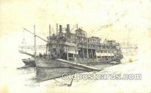shi075605 - The Golden Eagle Steamer, Steam Boat, Steamboat, Ship, Ships, Postcard Post Cards