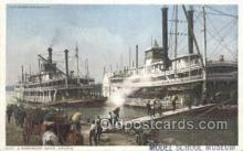 shi075611 - Mississippi River, USA Steamer, Steam Boat, Steamboat, Ship, Ships, Postcard Post Cards