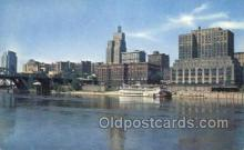 shi075612 - Skyline From The Mississippi River Steamer, Steam Boat, Steamboat, Ship, Ships, Postcard Post Cards
