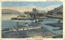 shi075620 - Pittsburgh, PA, USA Steamer, Steam Boat, Steamboat, Ship, Ships, Postcard Post Cards
