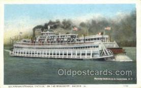 shi075621 - Capitol, Keokuk, Iowa, USA Steamer, Steam Boat, Steamboat, Ship, Ships, Postcard Post Cards