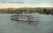 shi075625 - Island Queen, Covington, KY Steamer, Steam Boat, Steamboat, Ship, Ships, Postcard Post Cards