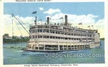 shi075627 - Island Queen Steamer, Steam Boat, Steamboat, Ship, Ships, Postcard Post Cards