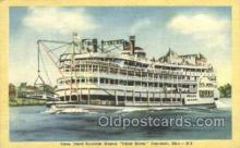 shi075628 - Island Queen Steamer, Steam Boat, Steamboat, Ship, Ships, Postcard Post Cards