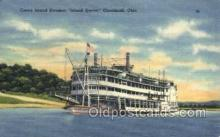 shi075629 - Island Queen Steamer, Steam Boat, Steamboat, Ship, Ships, Postcard Post Cards