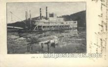 shi075634 - HM Stanley Steamer, Steam Boat, Steamboat, Ship, Ships, Postcard Post Cards